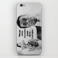 mad men iPhone & iPod Skins featuring Mad Men by Magdalena Almero