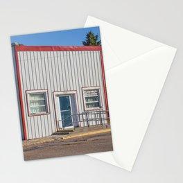 Post Office, Goodrich, North Dakota 2 Stationery Cards