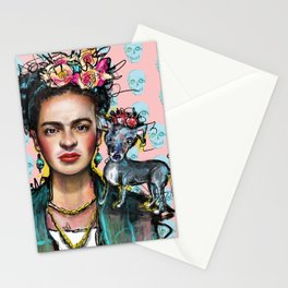 Frida + Perrito Stationery Cards