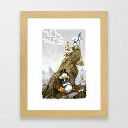 DuckTales Framed Art Print