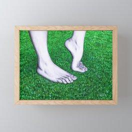 Feet Framed Mini Art Print