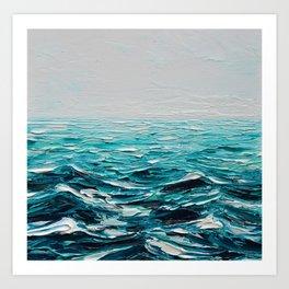 Seven Seas Art Print