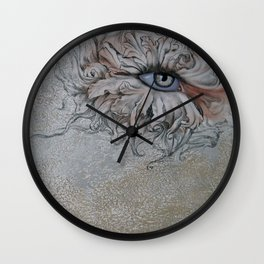 Etude of inspiration 6 Wall Clock