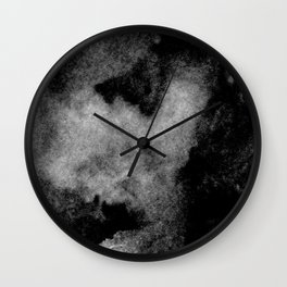 Textures (Black and White version) Wall Clock