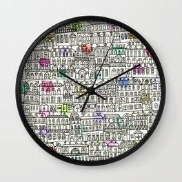 Parisian Cityscape Wall Clock