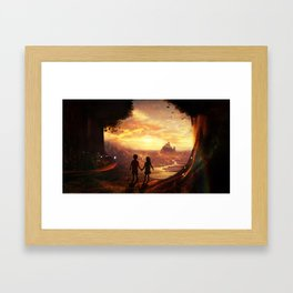 Fairy tale Framed Art Print
