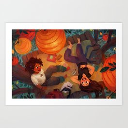 In the Treetop Art Print