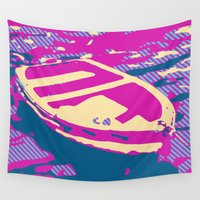 boat Wall Tapestries featuring Boat by DistinctyDesign