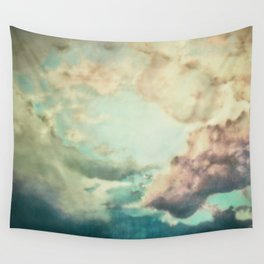 Stormy sky Wall Tapestry