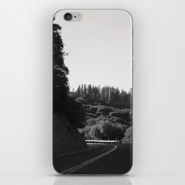 Wine Country Mountain Driving iPhone Skin