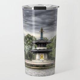 The Pagoda Battersea park London Travel Mug
