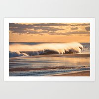 Wind & Waves Art Print