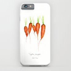 Carrots - Together we grow Slim Case iPhone 6s