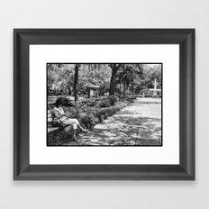 May in Savannah Framed Art Print