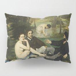 Edouard Manet - Luncheon On The Grass Pillow Sham