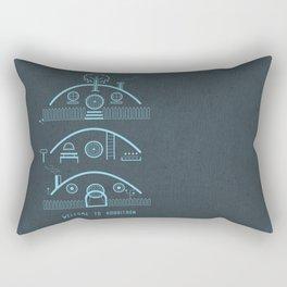 Welcome to Hobbitron Rectangular Pillow