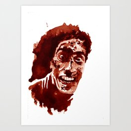 Who's laughing now? Art Print