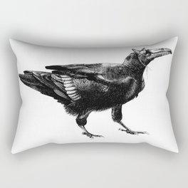 Halloween Raven Rectangular Pillow
