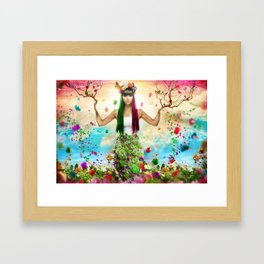 Vida Colorida Framed Art Print