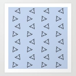 Impossible Triangles Art Print