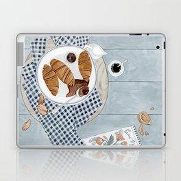 Croissants With Cherry Jam Laptop & iPad Skin