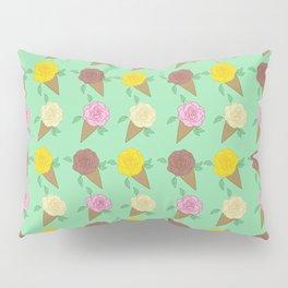 Roses Are Neapolitan Ice Cream Pillow Sham