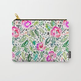 Hibiscus Frolic Carry-All Pouch