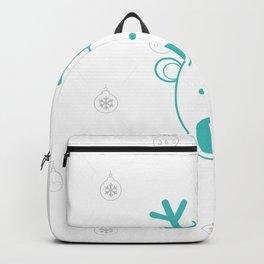Day 02/25 Advent - Blue-nosed Reindeer Backpack