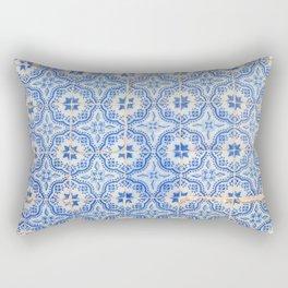 Lisbon tiles Rectangular Pillow
