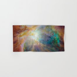 Heart of Orion Nebula Space Galaxy Hand & Bath Towel