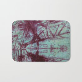 Tie Dye- Mint and Rust Bath Mat