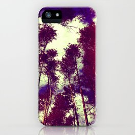 There is a pleasure in the pathless woods... iPhone Case