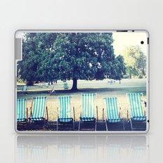 Hyde Park Chairs Laptop & iPad Skin