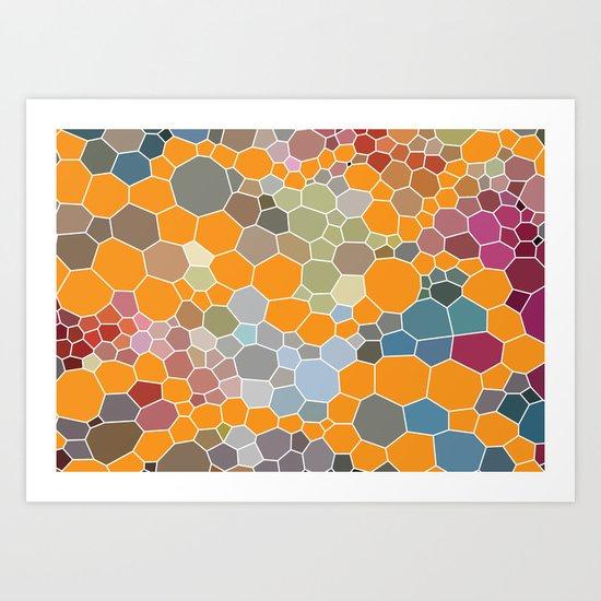 Exprimental Pattern XXIII Art Print