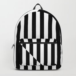 RETRO TELEVISION (BLACK-WHITE) Backpack