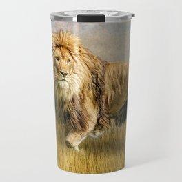 Serengeti King Travel Mug
