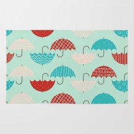 Umbrellas Rug