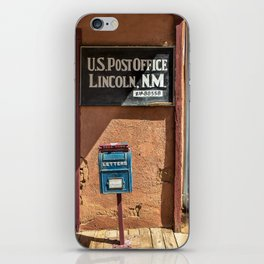 Post Office Lincoln NM iPhone Skin
