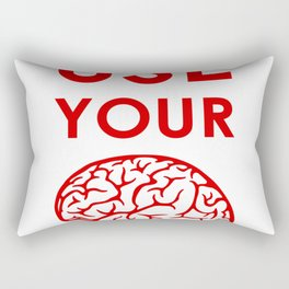 Use your Rectangular Pillow