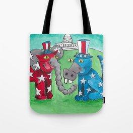 Washington DC Cats Tote Bag