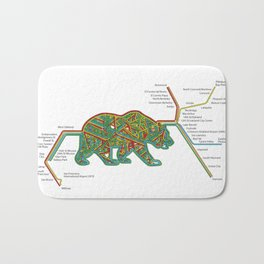 The Bear Area Bath Mat