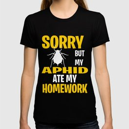 Funny Aphid Gift Idea T-shirt