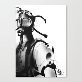 BnW9 Canvas Print