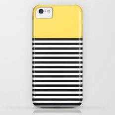 STRIPE COLORBLOCK {LEMON} Slim Case iPhone 5c