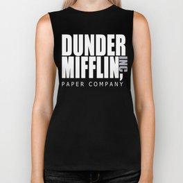 Dunder Mifflin Paper Company Biker Tank