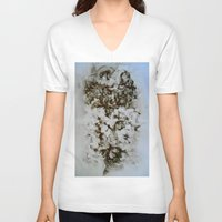 tea V-neck T-shirts featuring Tea  by Jennifer Cooper