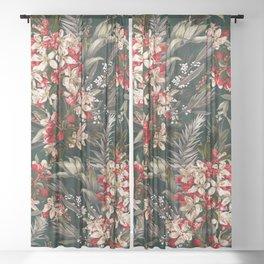 Midnight Garden XI Sheer Curtain