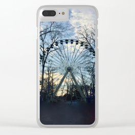 Ferris Wheel Color Clear iPhone Case