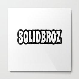 Solidbroz (Logo) Metal Print