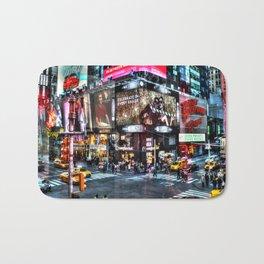 Times Square New York Bath Mat